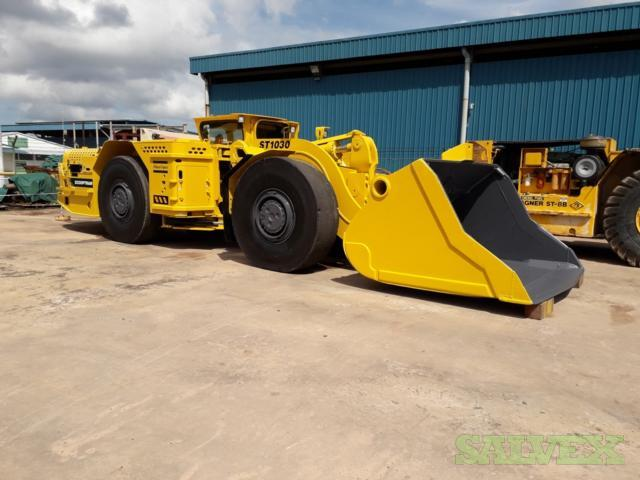 Atlas Copco Scooptram ST1030 Underground Loader 2007 (1 Unit)