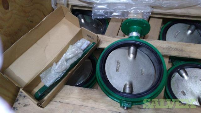 Cameron Demco Butterfly Valves 10 Waffer Style Series NE-1 ASME Class 125/150 (9 Units)