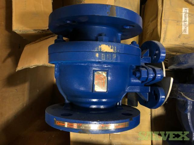 Quadrent Ball Valves and Check Point Pumps (161 Pieces)