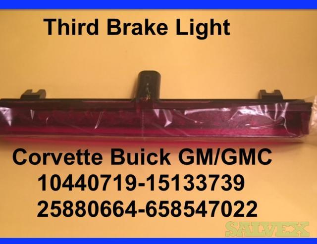 Buick and Chevy Third Brake Lamps 2008-2017 Models - 730 Units