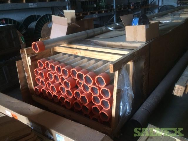 Aluminum Tubes 6061-T6, 4.75 OD, 28' 11.375 L (50 Pieces)