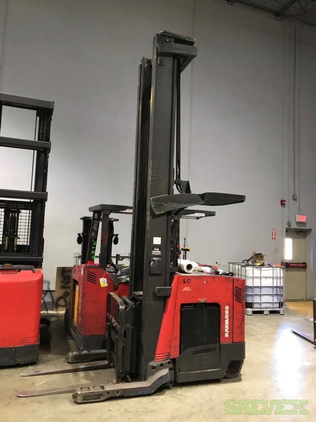 Raymond Deep Reach Lift Trucks (NO Batteries) - 4 Units