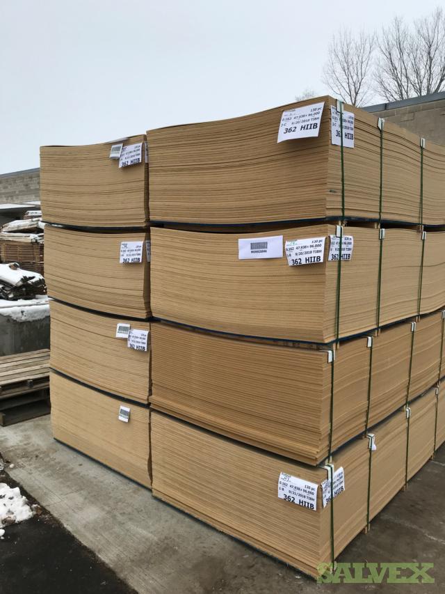 GP Brand 0,162x48x96 Raw Shop Softwood Based MDF Panels (Truckload - 1820 Sheets)