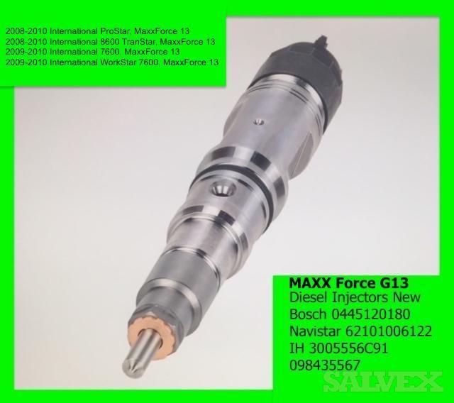 Maxx Force Diesel Fuel Injectors New (100 Pcs)