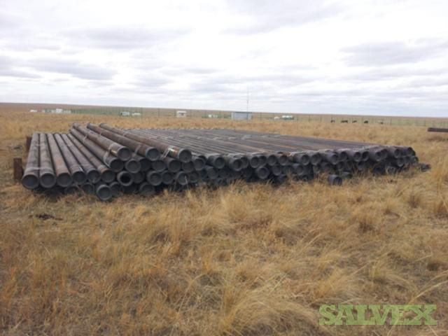 9 5/8 43.50# J55 BTC And STC R3 Surplus Casing (6,680 Feet / 132 Metric Tons)