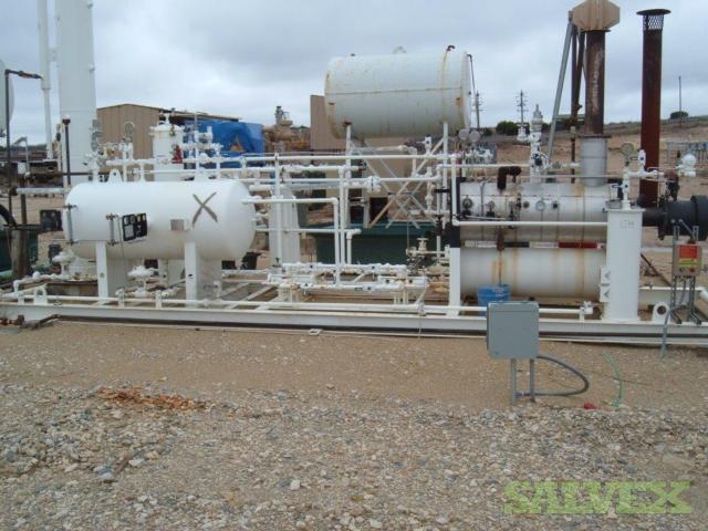 Gas Dehydration Unit 2 MMCFD (250,000 BTU/hr)