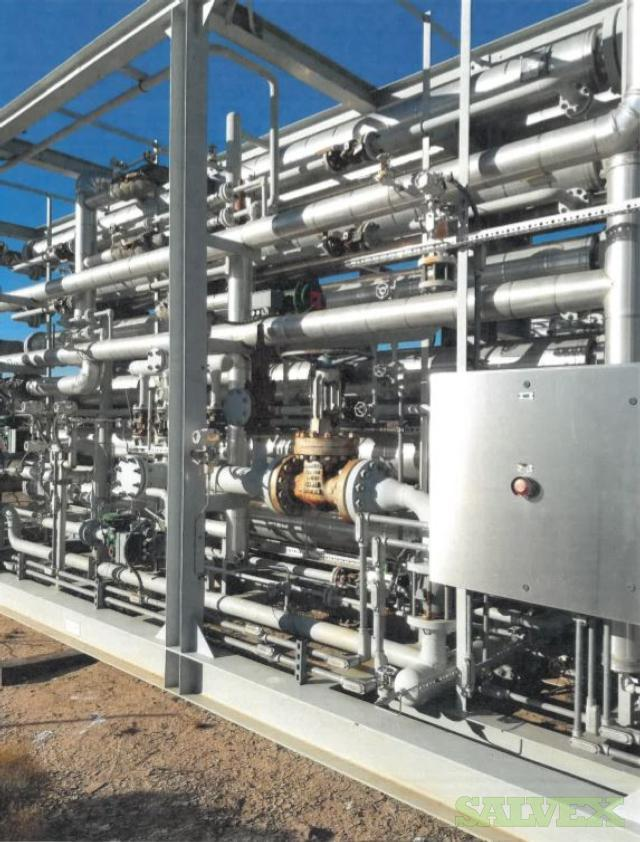 RN Manufacturing Control Skid - With Tube Membrane and Pre-Treatment Skids