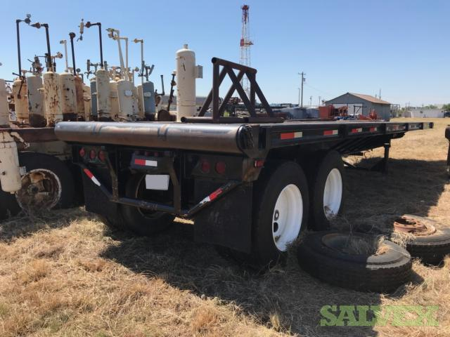 Nabors 40' Float with Rolling Tailboard Flatbed Trailer (1 Unit)