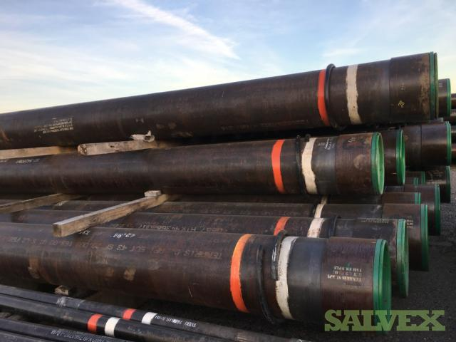 20 169# Q-125 ICY TSH ER DPLS SMLS R3 Surplus Casing (14,879 Feet)