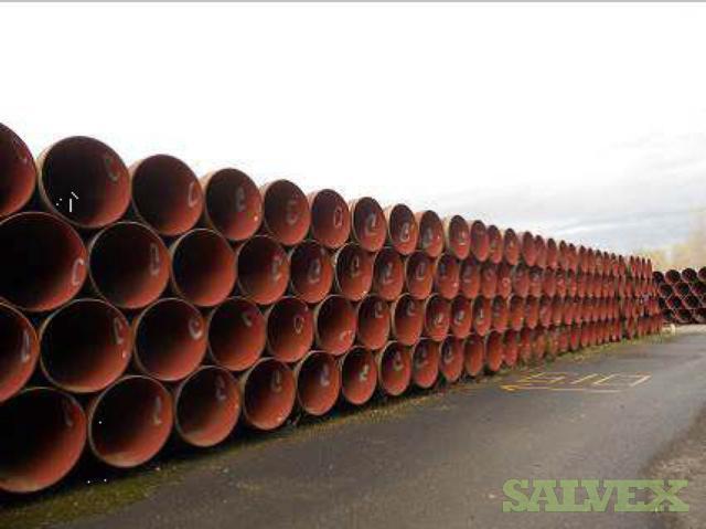 36 0.437WT Surplus Line Pipe (28,348 Feet / 2136.21 Metric Tons)