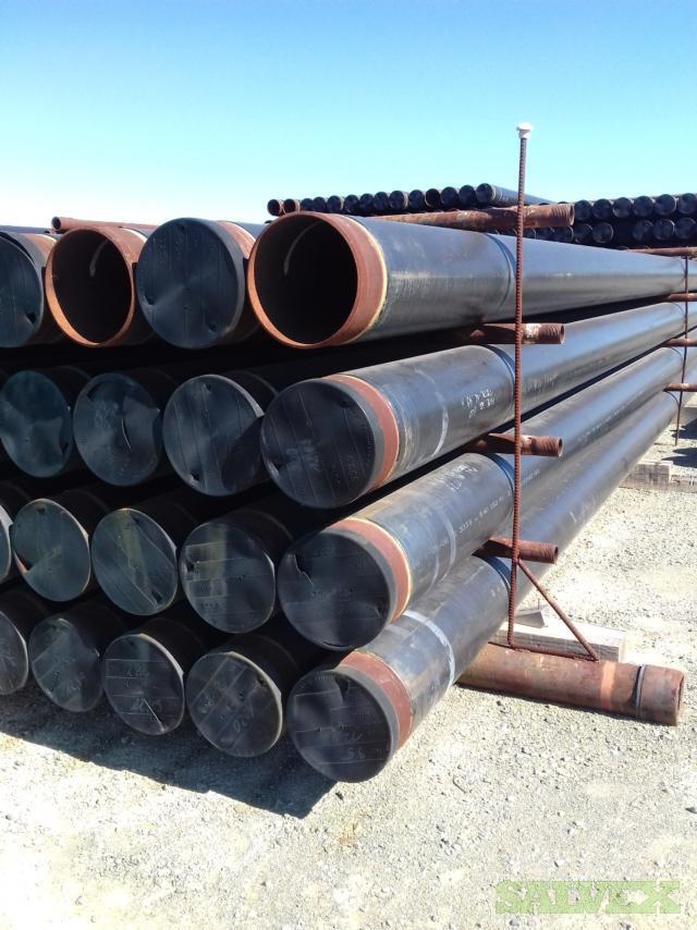 12 .330WT X60 3LPE Surplus Line Pipe (35,219 Feet)