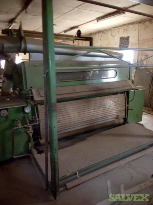 Textile Machinery: Cotton Roller, Blowing Machine, Knitting Machines, Spinners, Rolling, Stretchers and Winder Machines (275 Items)
