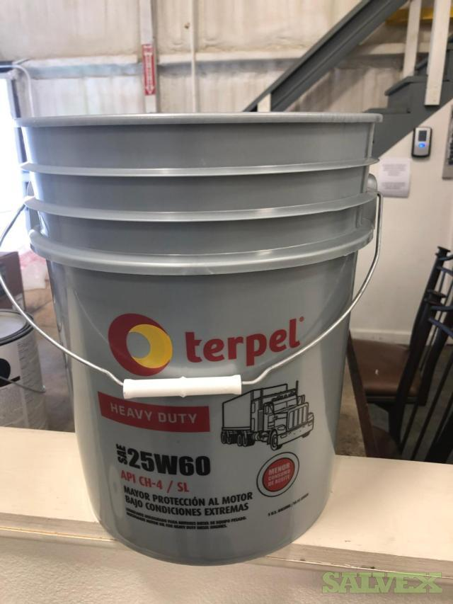 HDPE Buckets with Printed Label in the Front - 15,000 Units / 250 Pallets