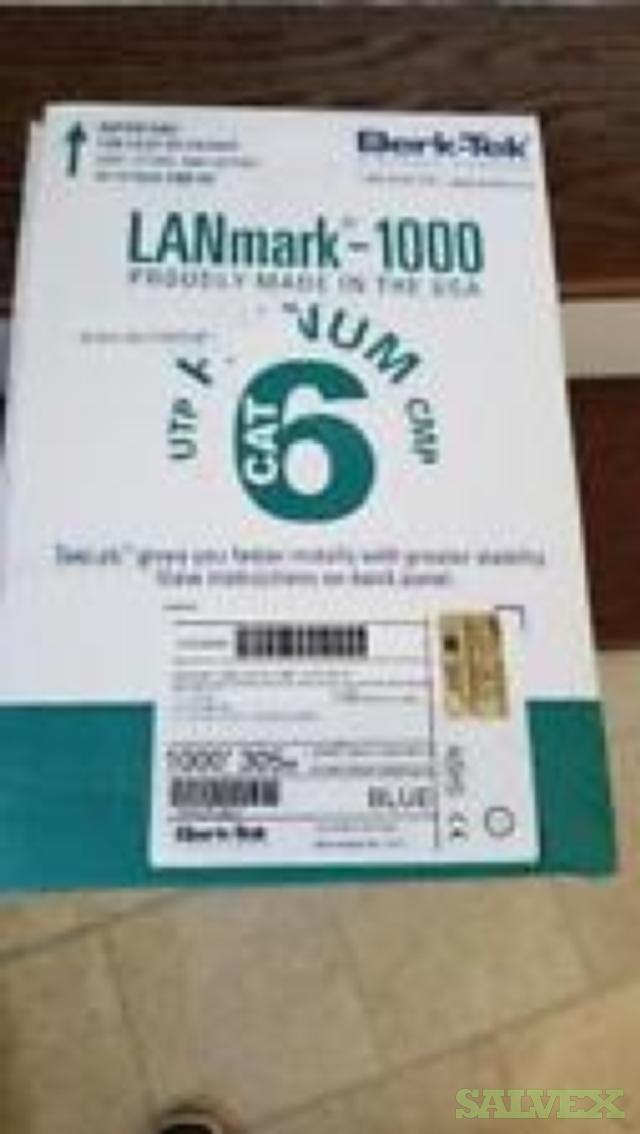 Bertek Lanmark 1000- cat 6 Plenum-30 Boxes of 1,000'