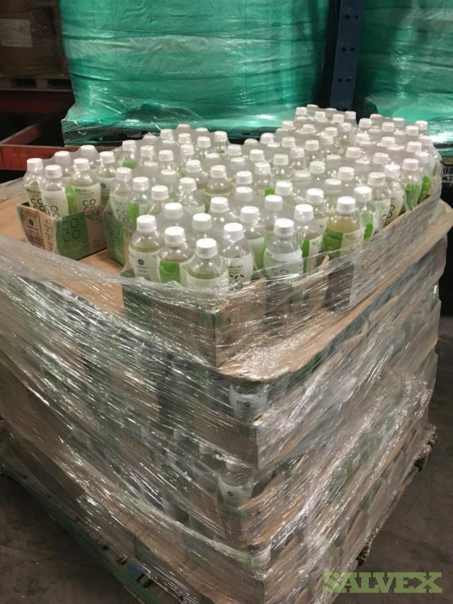 Natural and Flavored Coconut Water and Aloe Water (18,122 cs.) - Abandoned Shipment
