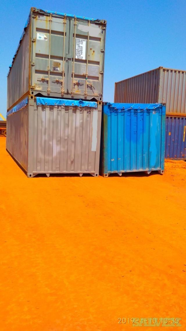 Shipping Containers (87 Units: 50 x 40'STD / 10 x 40'HC / 19 x 40'OT / 8 x 40'Reefer)