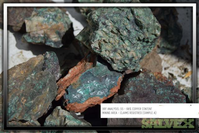 Copper Bearing Ore - Grade 12%