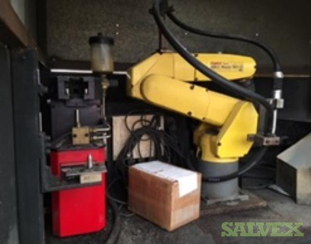 Yajima Nut Feeder and Mig Robot Welder (1 Lot)