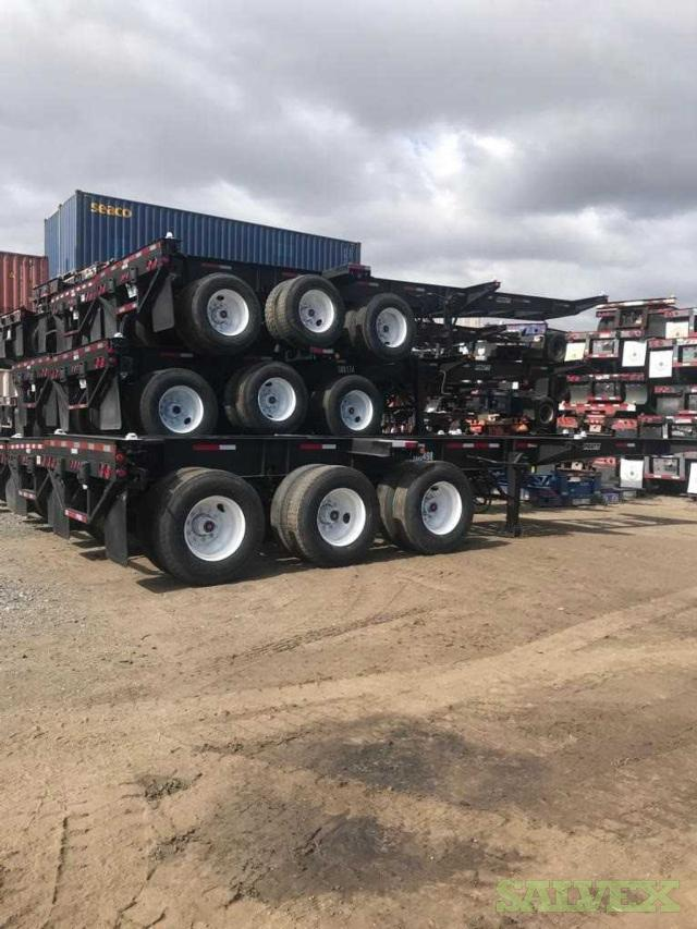 Chassis - Tri Axle Combo 20' - 40' (2)