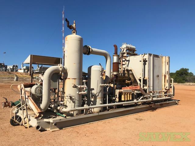 Frick SGC 2321 and SGC 2817 Compressors (2 Units)