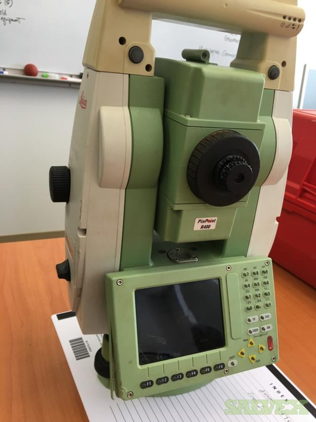 Leica TS12P Robotic Total Station - for Geosurveying