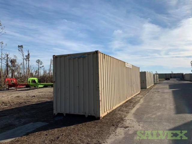 20 ft Shipping Containers Salvage (32 Units)