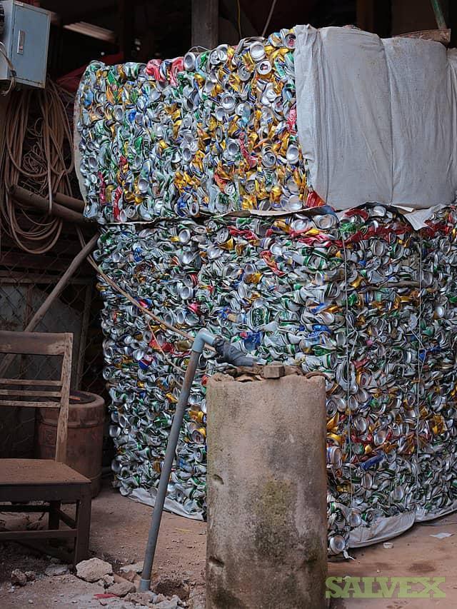 Aluminium Scrap Beverage Cans (100MT)