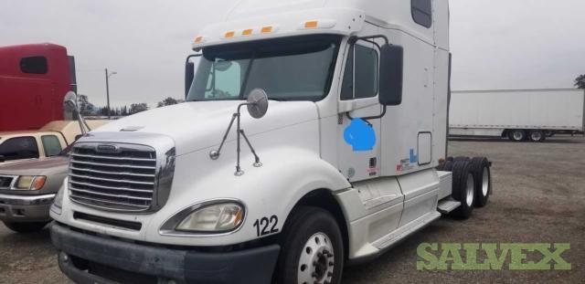 Freightliner Columbia Trucks with Detroit 14L (4 Tractors)