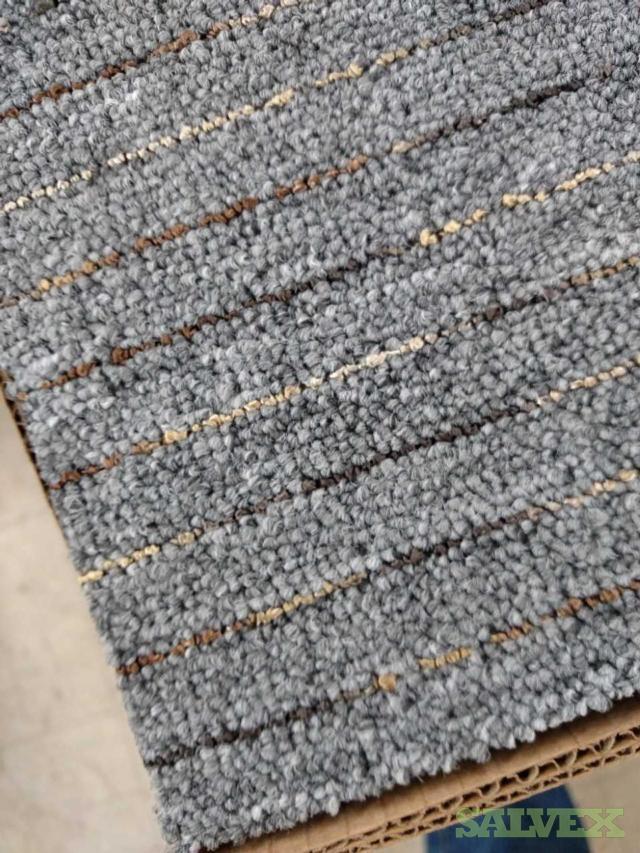 EZ Commercial Carpet Tile Peel N Stick, Park Place Style, Perfect Cinder Color ( 9,800 sq ft)
