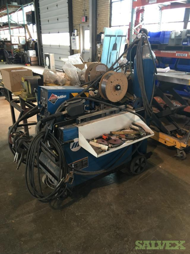 Used Shop and Power Equipment (Grinders, Washers, Bandsaws