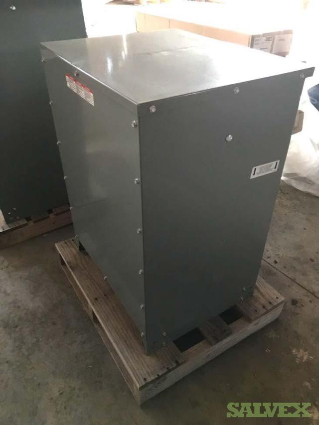Electrical Equipment: Interior Panel Board, Dry Type Transformers and Lighting (8 Items)