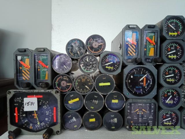 Boeing 747 Flight Instruments (115 Parts)