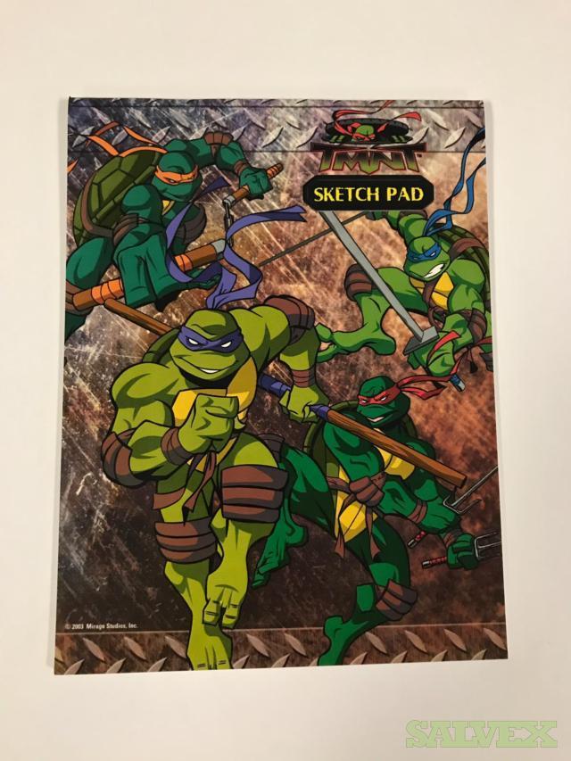 TNMT - Teenage Mutant Ninja Turtles Sketch Pads