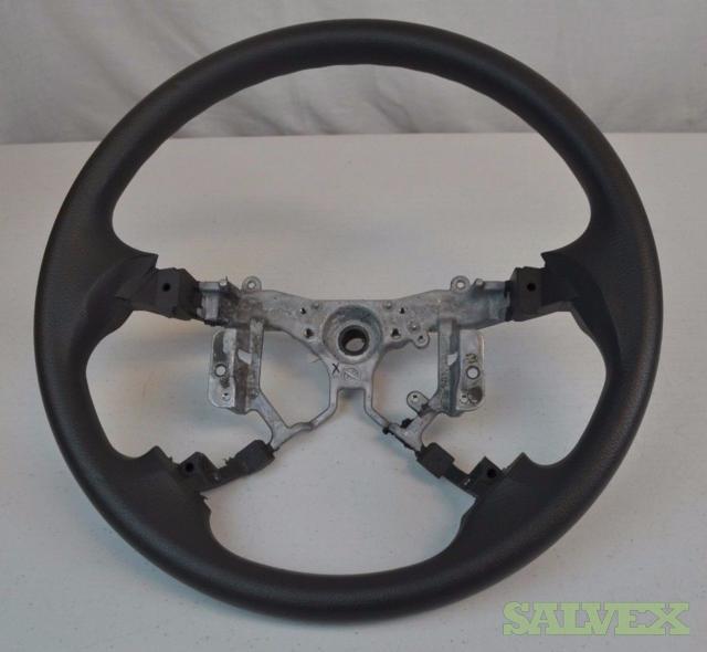 OEM Toyota Camry 2007 - 2011 Steering Wheel Gray Grey Vinyl - 50 Units