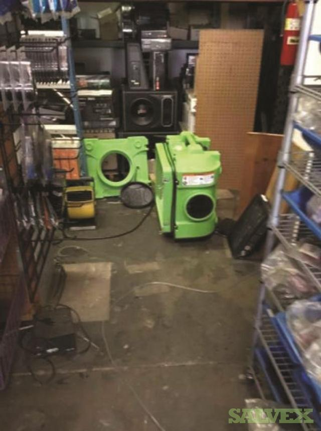 Car Audio Store Office Equipment: Safe, Cabinets, Desks, Speakers, Radios, Subwoofers (100 Items)