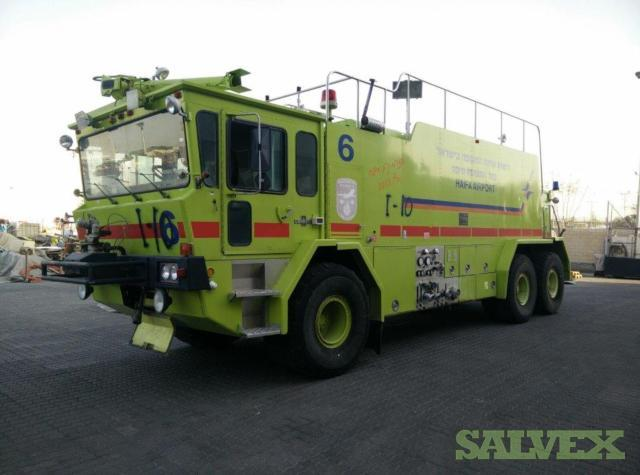 Oshkosh T-2500 Aircraft Rescue & Firefighting Vehicles (2 Units)