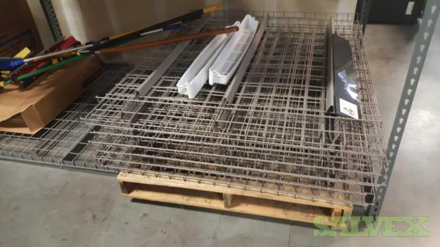 Warehouse Shelving Rack - Wired Deck