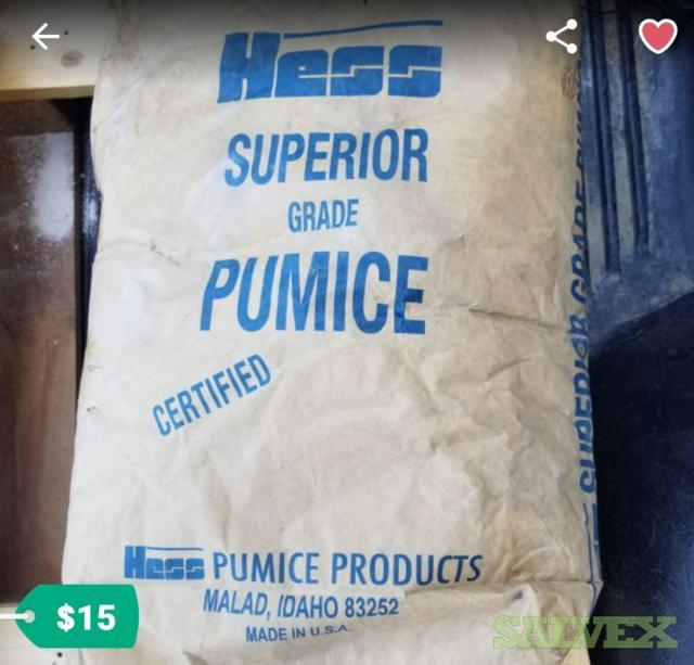 Hess Superior Grade Powdered Pumice (13,000 lbs / 380 Bags)
