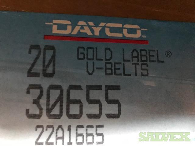 Dayco Gold Label Industrial V Belts (14 Boxes)