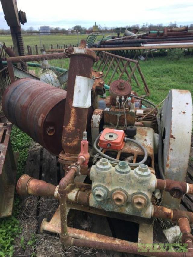 Wheatley and Gardner Denver Triplex Pumps (2 Units)