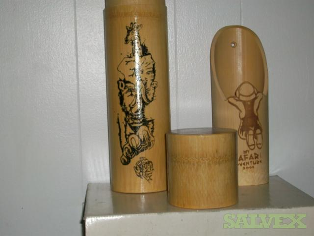 Bamboo Holders for Offices, Books, Flowers and Decoration (28,000 pcs)