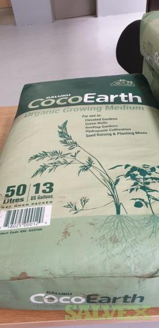 Galuku Coco Earth - Organic Growing Medium 24.516 kg /   (2,724 9kg Bags)