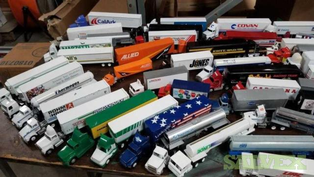 Collectible Toy Trucks (71 Units)