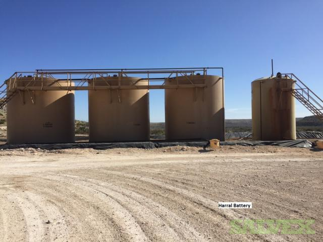 Steel Tanks - 500 BBL (4 Units)