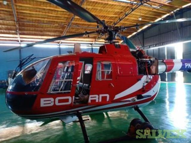 MBB BO105 Helicopters 1996 with Allison 250-C20B Engines (2 Units)