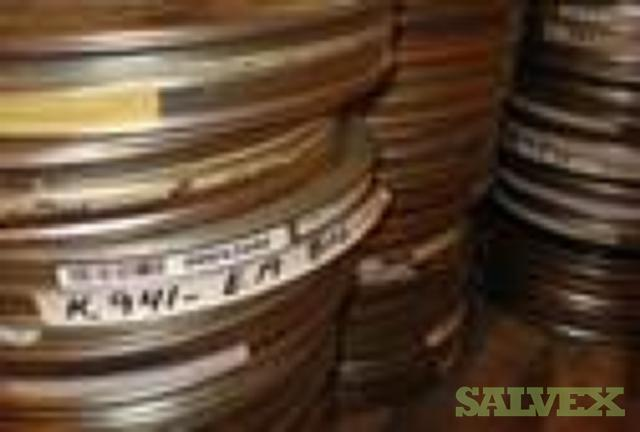 35 mm Film Reels - 600 Boxes /24 Tons