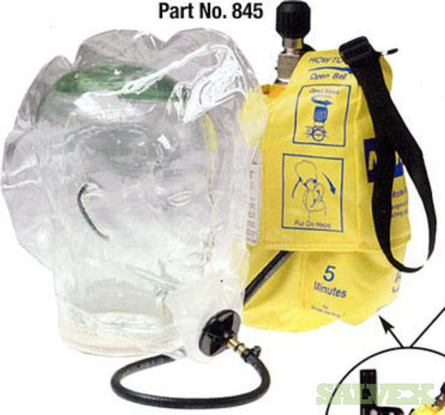 North by Honeywell 845 Emergency Escape Breathing Apparatus, 5 Minutes (98 Kits)
