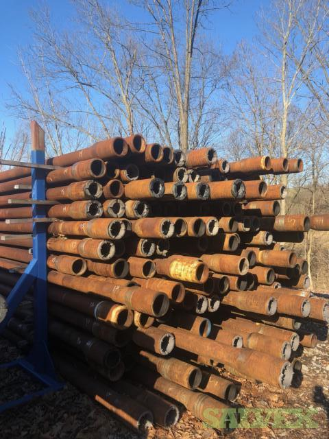 5 19.5# S135 NC50 Used Drill Pipe (37,800 Feet)