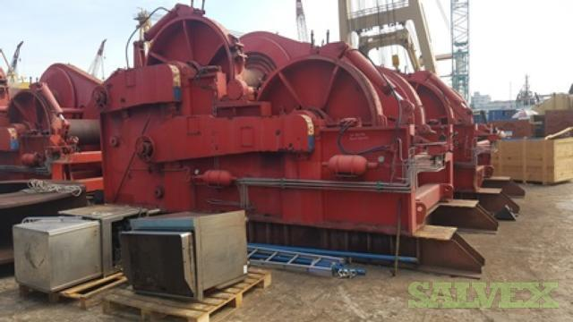 Promoter Waterfall DD Winches - 60 Tons (4 Units)