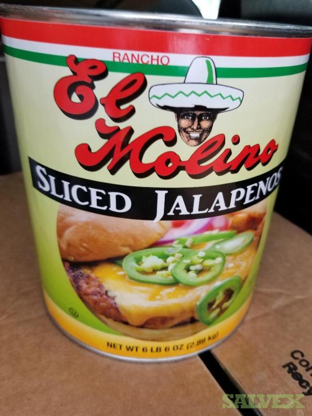 El Molino Jalapenos Sliced Peppers -490 Cases